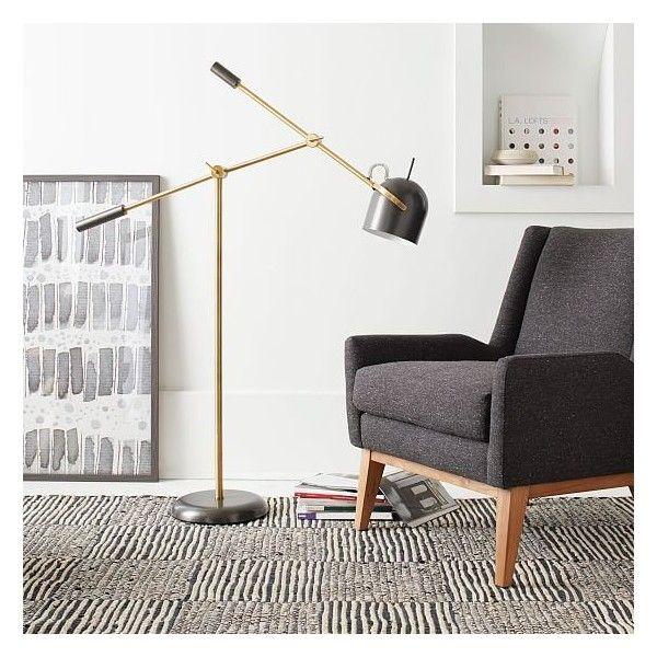 Best 25 west elm floor lamp ideas on pinterest overarching west elm kenneth floor lamp antique brass west elm floor lamps aloadofball Gallery
