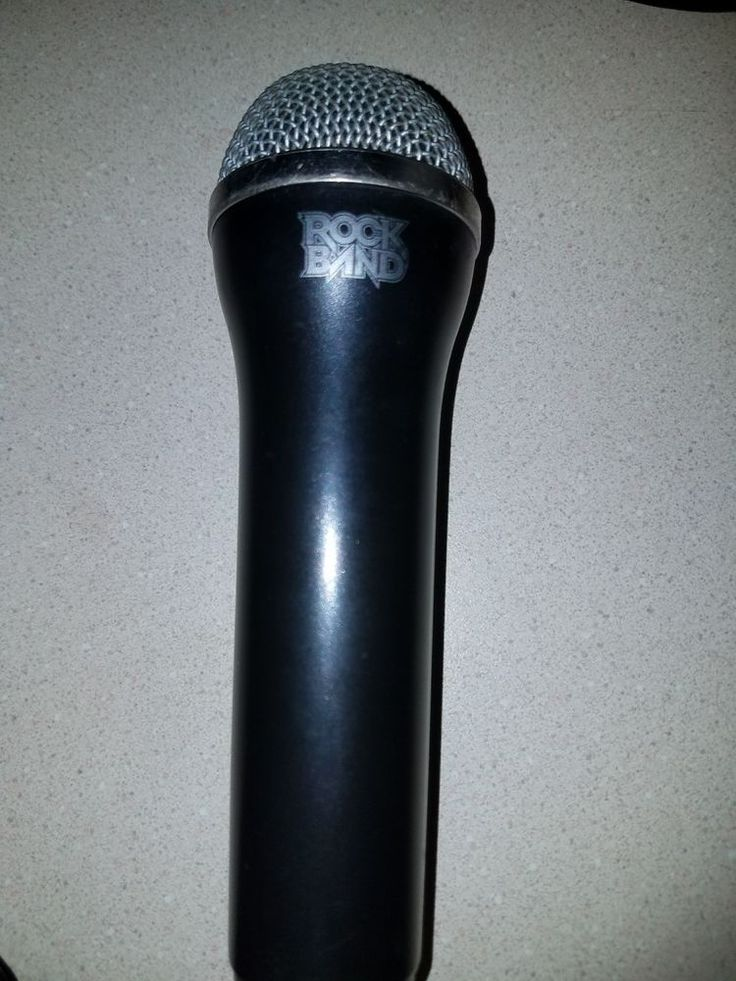 Rock Band Logitech USB Microphone for Wii, PS3, PS2, Xbox 360 | Video Games & Consoles, Video Game Accessories, Controllers & Attachments | eBay!