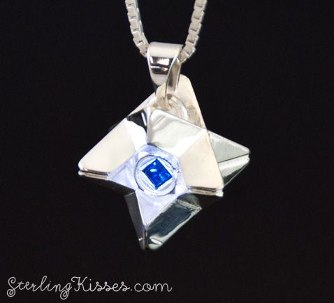 Destiny Ghost Pendant Fulfill your destiny and become a true Guardian with your own personal Ghost. Only on www.sterlingkisses.com