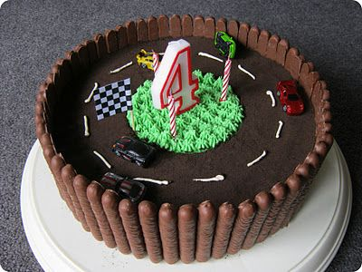 monkey makes three: My Creative Space: Race Track Cake
