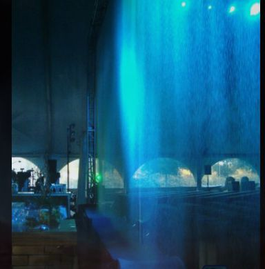 Special Effects Water Effects : Tsunami Water Screen™ curtians : Water Cannons Effects : video waterfall ; Tsunami Water Screen™ : Water Geysers CannonsFX : Misting fog FX: high pressure fog system : Jungle mist : fine-mist water mist system making fog mist haze ; water rain curtain, projection screen