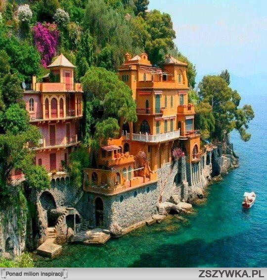 Portofino, Włochy .