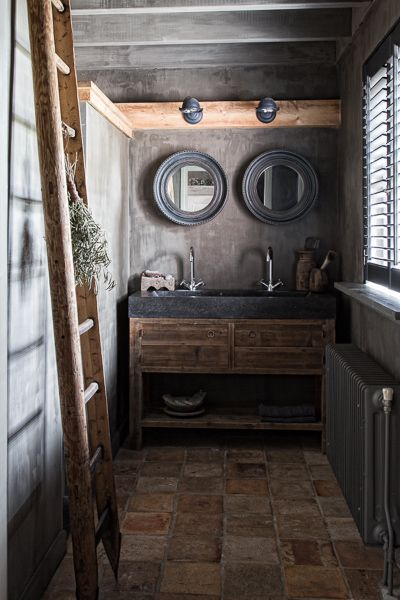interior design | decoration | home decor | bathroom | rustic