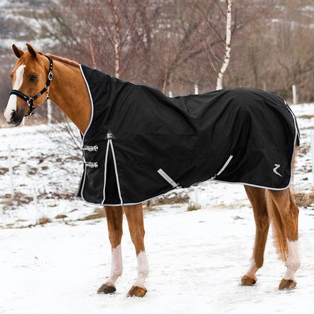 This Traditional Full Coverage Turnout Blanket With A High Neck And Solid Sy Construction Is Perfect For Playful Winter Romps In The Pasture
