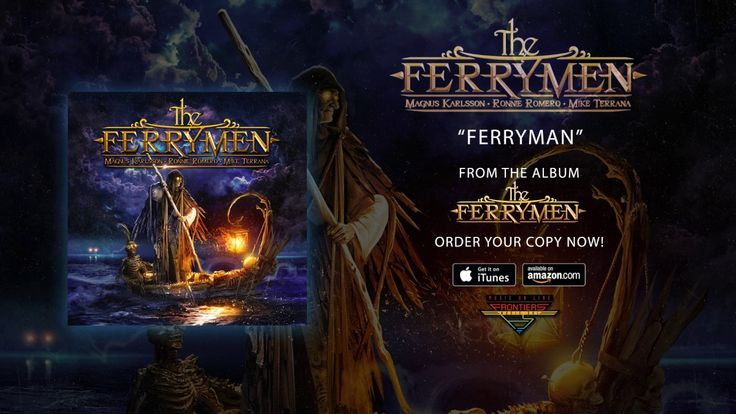 "The Ferrymen (Ronnie Romero, Magnus Karlsson & Mike Terrana) - ""Ferryman..."