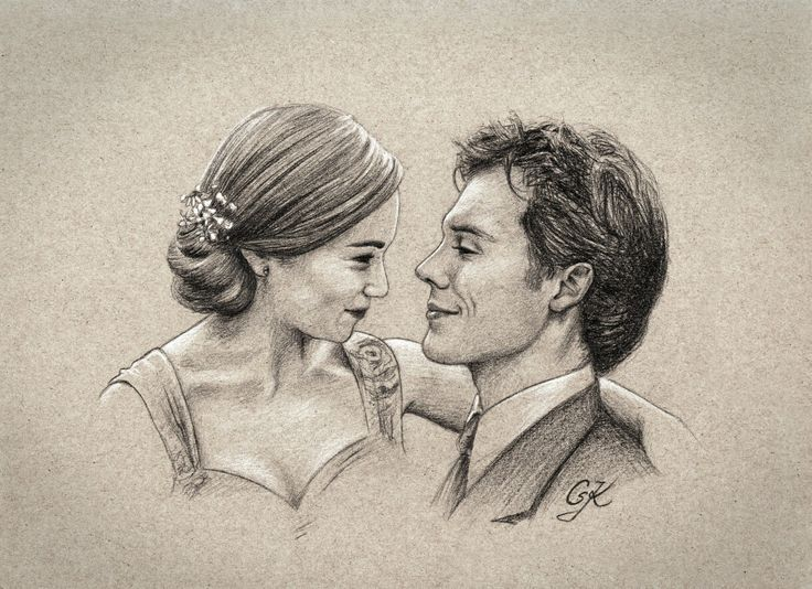 FanArt Me Before You,  Lou and Will, Louisa Clark, Will Traynor, Emilia Clarke, Sam Claflin, HD Download at http://kaliszo.de/me-before-you/