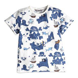 T-shirt med tryck - Lindex