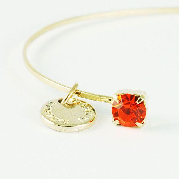 CATERINA MARIANI BIJOUX Swarovski Sun Bracelet | La Luce http://shoplaluce.com/collections/caterina-mariani-bijoux/products/caterina-mariani-bijoux-swarovski-sun