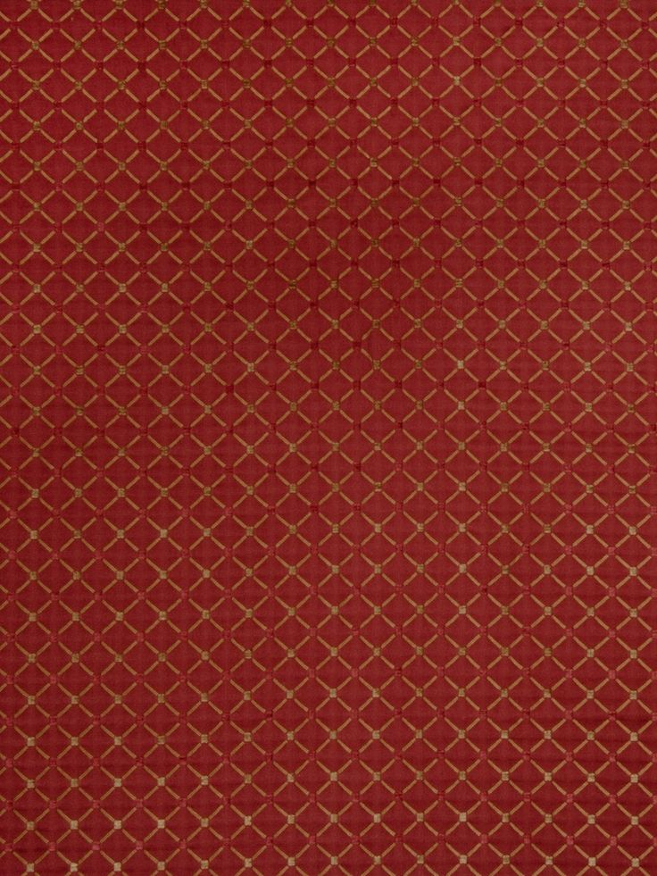 Trend 02104-Cardinal by Jaclyn Smith 7038202 Decor Fabric - Patio Lane introduces an extensive collection of Jaclyn Smith fabrics by Trend. 02104-Cardinal is made out of 56% Rayon 44% Polyester and is perfect for bedding, drapery, and upholstery applications. Patio Lane offers large volume discounts and to the trade fabric pricing as well as memo samples and design assistance. We also specialize in contract fabrics and can custom manufacture cushions, curtains, and pillows. If you cannot ...