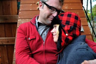 Steven Page And Christine | Steven Page appreciates life in Central New York.
