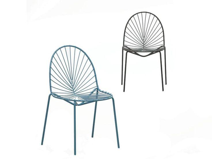 Stuhl aus synthetischer Faser SEN-SU by da a Design Bartoli Design