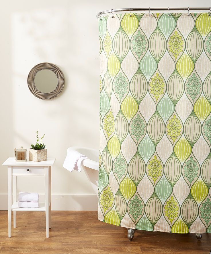 Majectic Green Shower Curtain