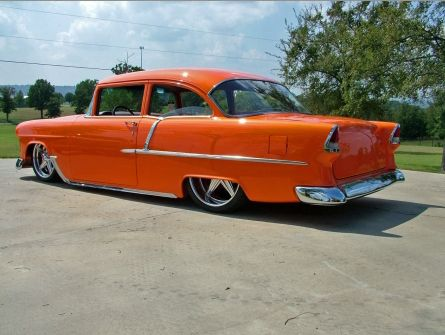 Titus Will Chevrolet >> 55 Chevy 210. Perfect Stance and wheels! | Cars | Pinterest | Wheels, Cars and Muscles