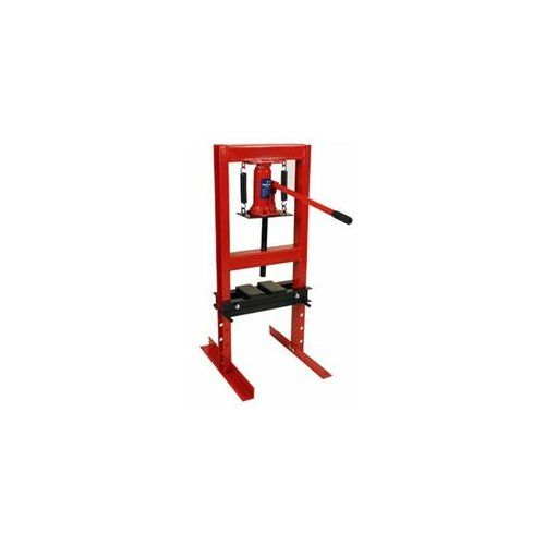 Premium Steel 6 Ton 12 000 Lbs Hydraulic Bench Top Shop Press With Press Plates Bottle Jacks Shop Press Welded Metal Projects