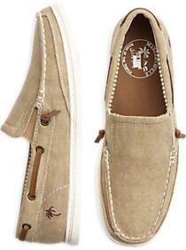Margaritaville Tan Boat Shoes