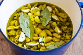 Kalyn's Kitchen®: How to Make Garlic Confit (for cooking or for a homemade Christmas gift)