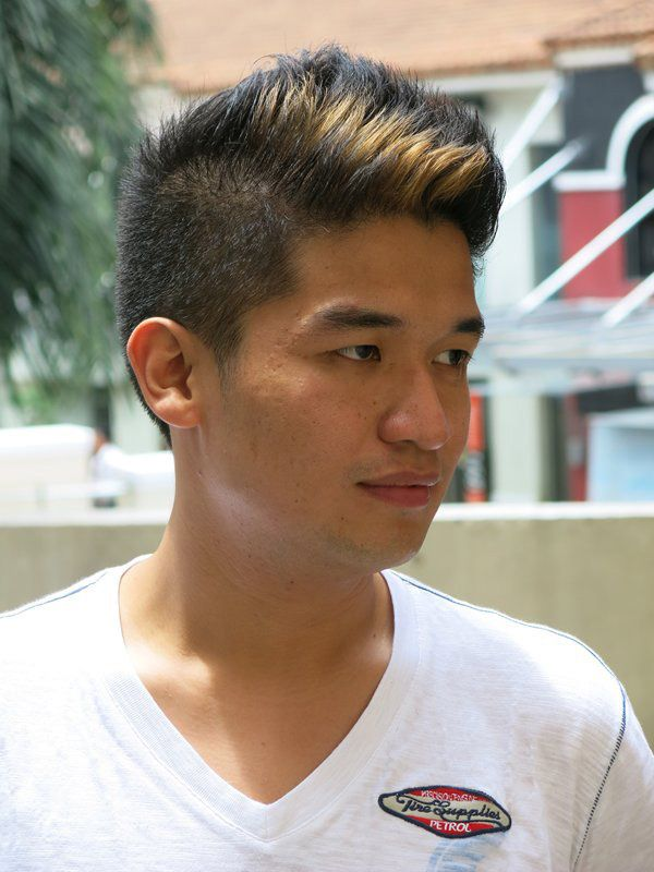 filipino hairstyles for men - Google Search