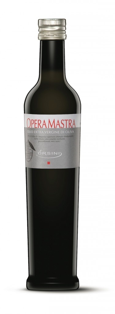 """Operamastra"" by Ursini. Italian extra vergin olive oil."