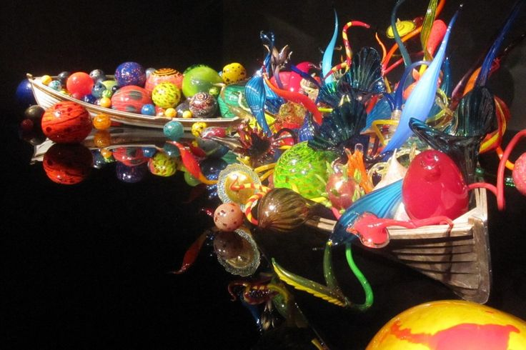 Chihuly Glass Museum Seattle. I've been and id go back again. So amazing.
