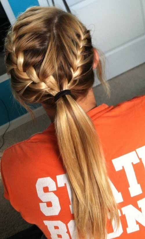 French Braids High Ponytail - 5 Awesome French Braids Hairstyles You Would Love To Try