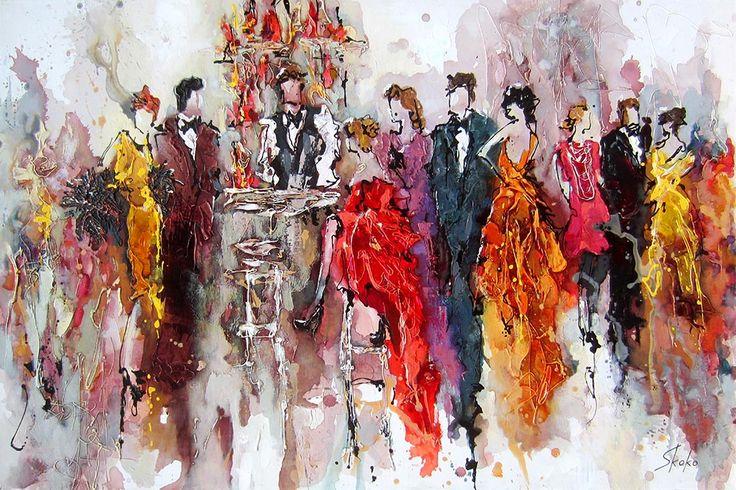 Signature Drink par Skoko, artiste présentement exposée aux Galeries Beauchamp. www.galeriebeauchamp.com