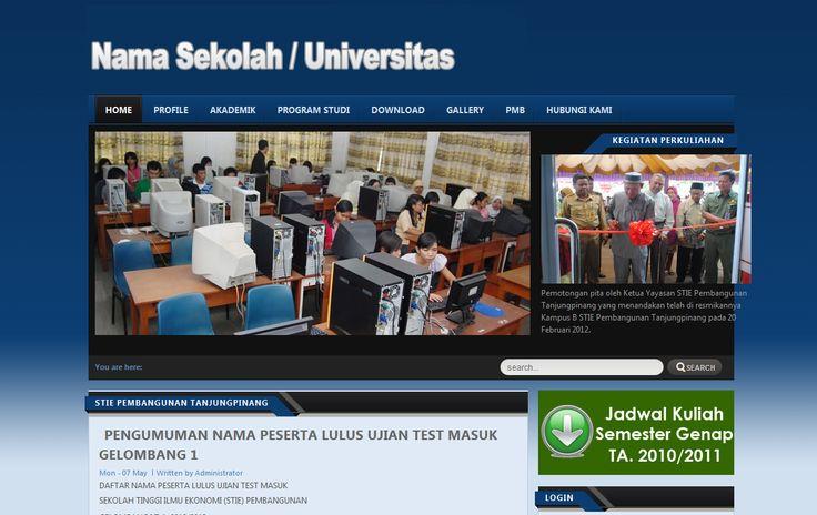 Jasa Pembuatan Website Sekolah dan Universitas