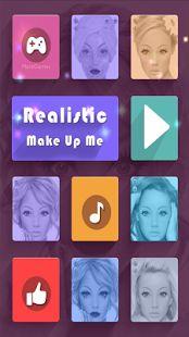 Realistische MakeUp Me: miniatuur van screenshot