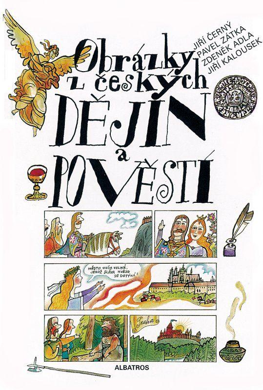 Obrázky z českých dějin a pověstí. Jiří Černý a Pavel Zátka - 1. třída a starší (čtení na podzimni Family Nights spojené s divadlem)