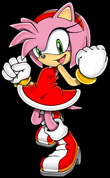 Amy Rose the hedgehog