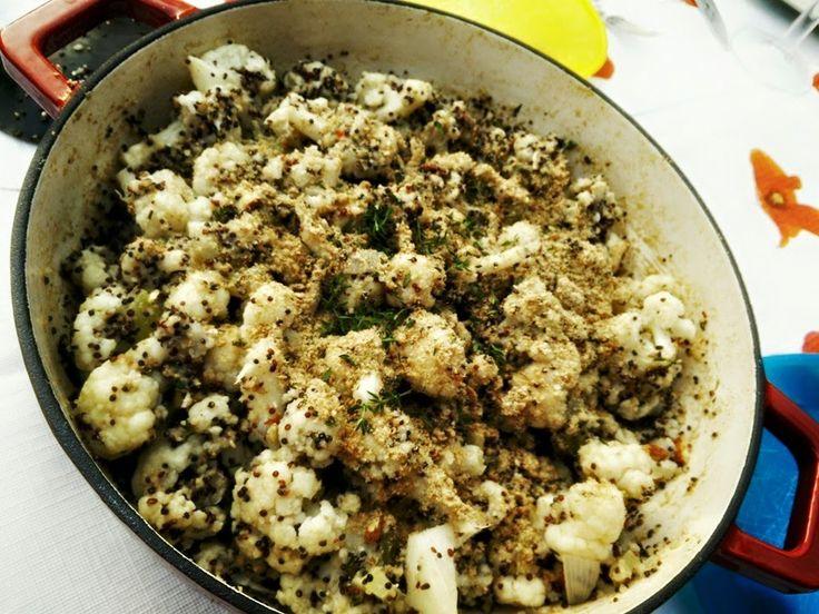 HandsoffmyFOOD!: VEGAN VIBES: Quinoarisotto? Jeps, met gepimpte bloemkoolroosjes en knapperige hazelnoot. Nommie!