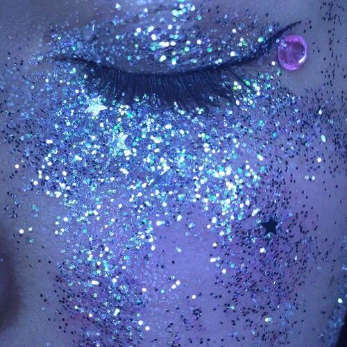 Glitter sleep.