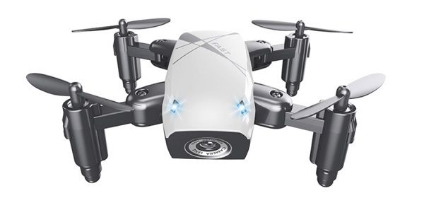 S9W cheap mini foldable drone with WiFi FPV camera. Thanks to the altitude hold feature the S9W quadcopter is capable to keeps stable its flight altitude.