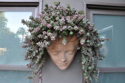 succulent hair --love this...