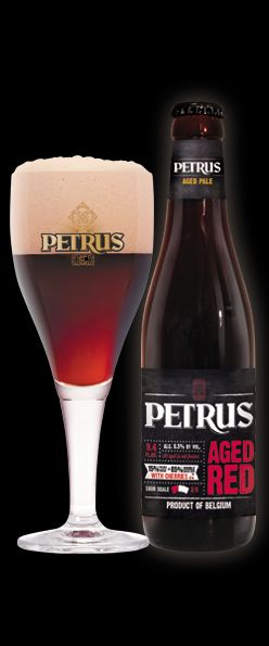 Petrus Aged Red 8.5% abv. 15% Foeder Beer + 85% Double Brown Beer with Cherries. Spectacular!