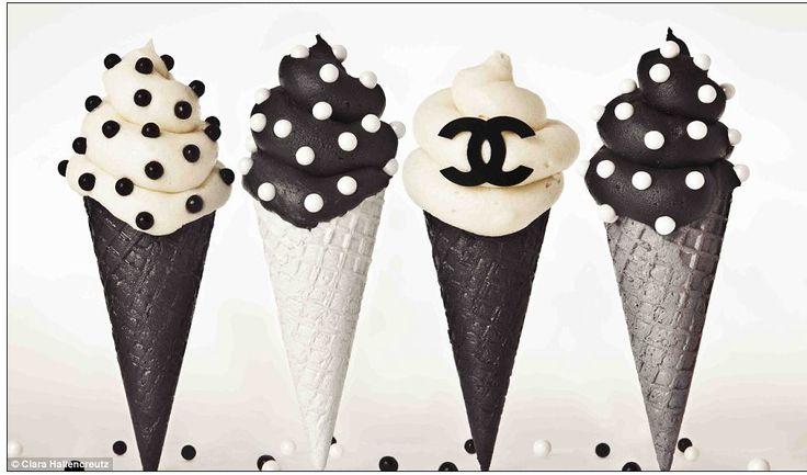 #chanel#art#Clara Hallencreutz#icecream