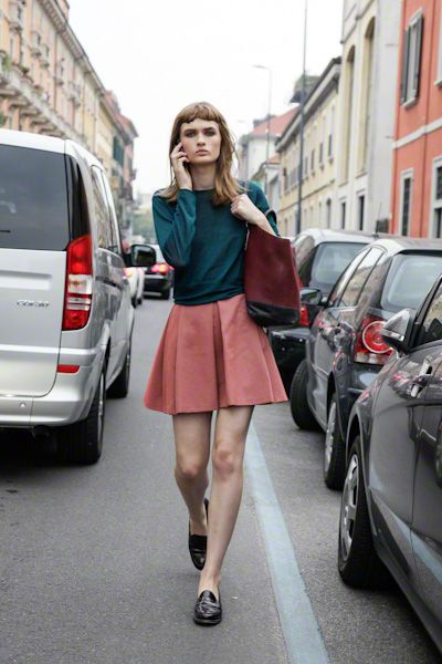 <3 the colours. street style by Team Peter Stigter.