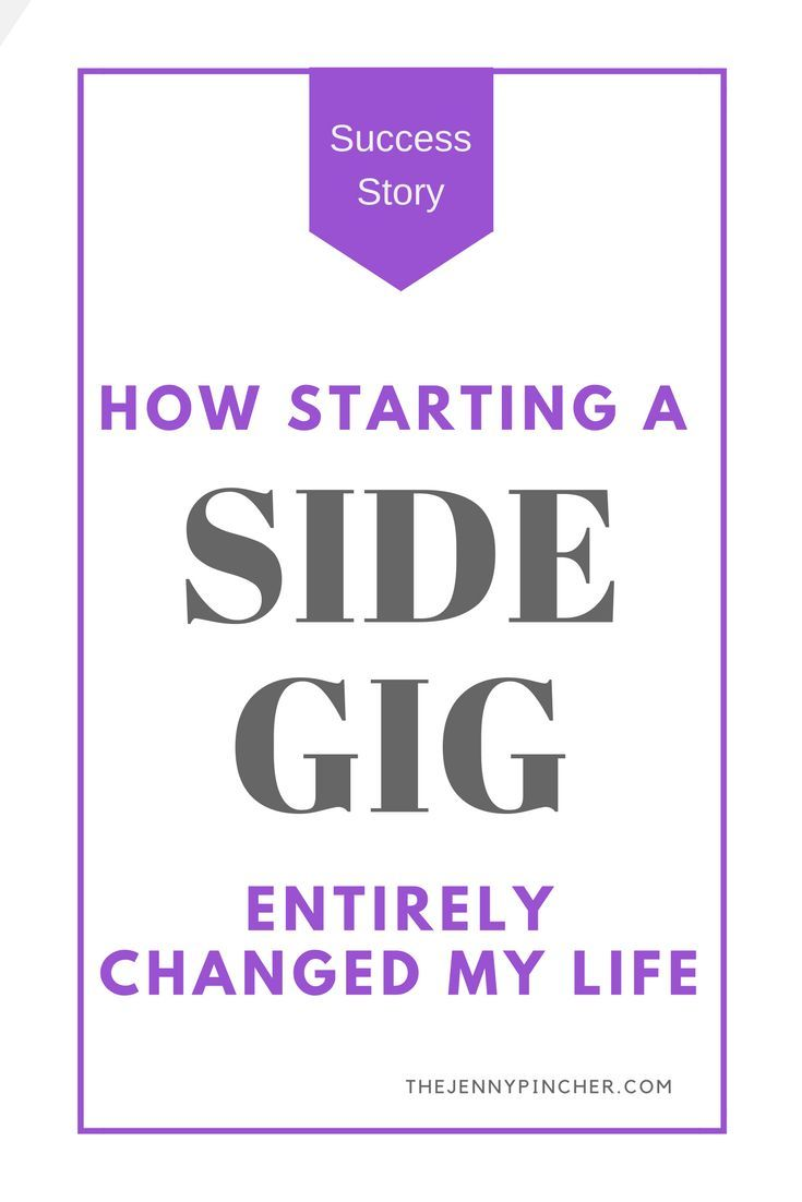 Starting a side gig was one of the best things I ever did! This post explains my success story and how I was able to create a six figure income from what I learned by following my passion with my side gig.