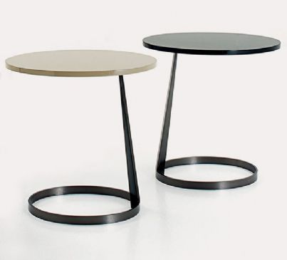 Occasional Table Contemporary Wood Indoor Rise Marco Black Metal Side Table