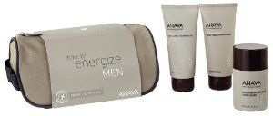 Ahava Men's Travel Kit, 16 Ounce by AHAVA. $33.82. Keep skin smooth wherever his travels take him. Every product is formulated with ahava's exclusive dead sea mineral complex. Our nature-inpsired g force extract with ginko biloba, ginger root, and ginseng. Ahava's travel kit for men includes the best of our innovative skincare line in airline-approved travel sizes in a durable travel bag.