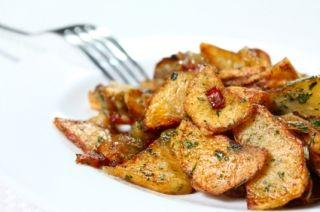 Pommes de terre à l'oignon au four #recettesduqc #accompagnement #legume