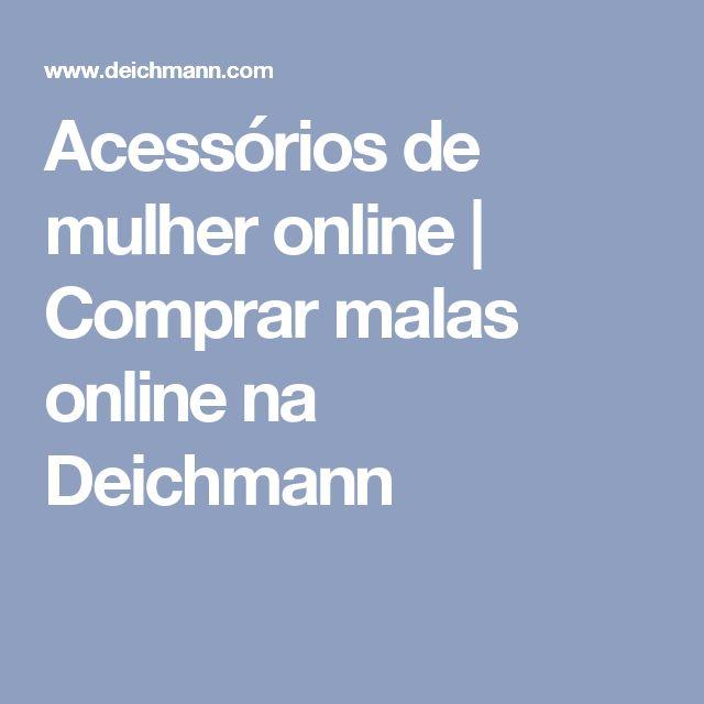 Acessórios de mulher online   Comprar malas online na Deichmann