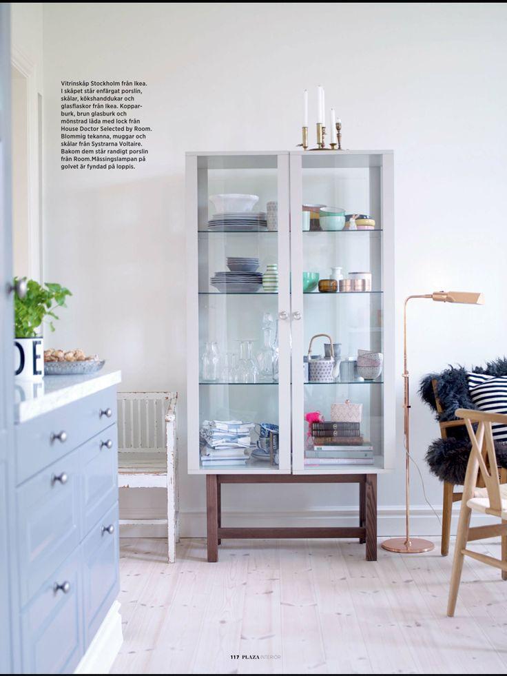 ikea vitrine stockholm ikea pinterest. Black Bedroom Furniture Sets. Home Design Ideas