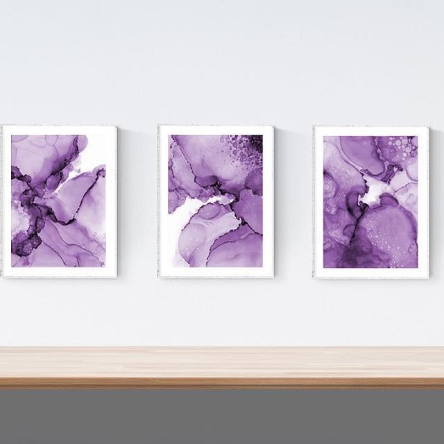 Another version of this Triptych! I can digitally make them any colour, so let me know if you have any requests  ••• #art #alcoholink #artwork #originalart #painting #fluidartwork #flow #madeincanada #artforsale #design #decor #instaart #artistsoninstagram #abstract #contemporaryart #yyc #calgary #yycartist #yycbusiness #yycliving #artdaily #homeinspo #triptych #prints #etsy
