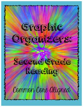 Graphic Organizers to go along with Common Core Reading Standards in Second Grade