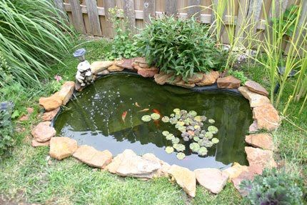 65 best images about lago artificial on pinterest for Artificial koi fish for ponds