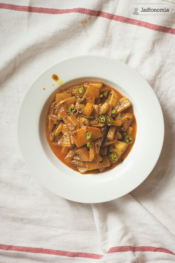 Curry z kalarepy » Jadłonomia · wegańskie przepisy nie tylko dla wegan