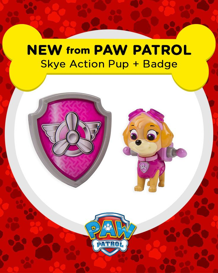 This Syke Action Pack Pup is the perfect gift for any PAW Patrol fan!