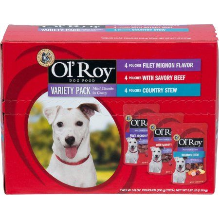 Ol' Roy: 5.32 Oz Dog Food, 12 Ct