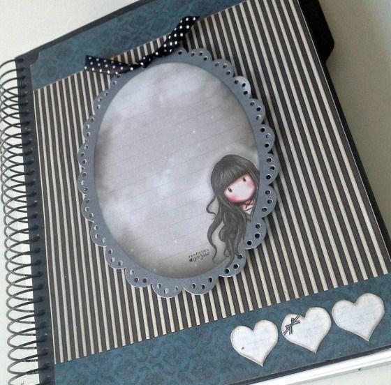 cuaderno gorjuss scrapbooking