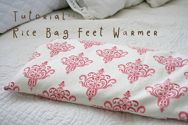 Rice Bag Feet Warmer (I can think of a few people that would want this too!)